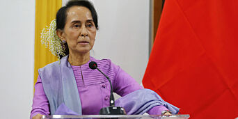 image: Aung San Suu Kyi støtter fengsling av journalister