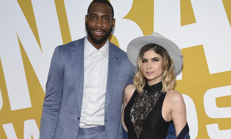 OMKOM: Tidligere basketproff Rasual Butler og kona, sanger Leah LaBelle, mistet begge livet i en tragisk bilulykke i Los Angeles. Foto: NTB scanpix