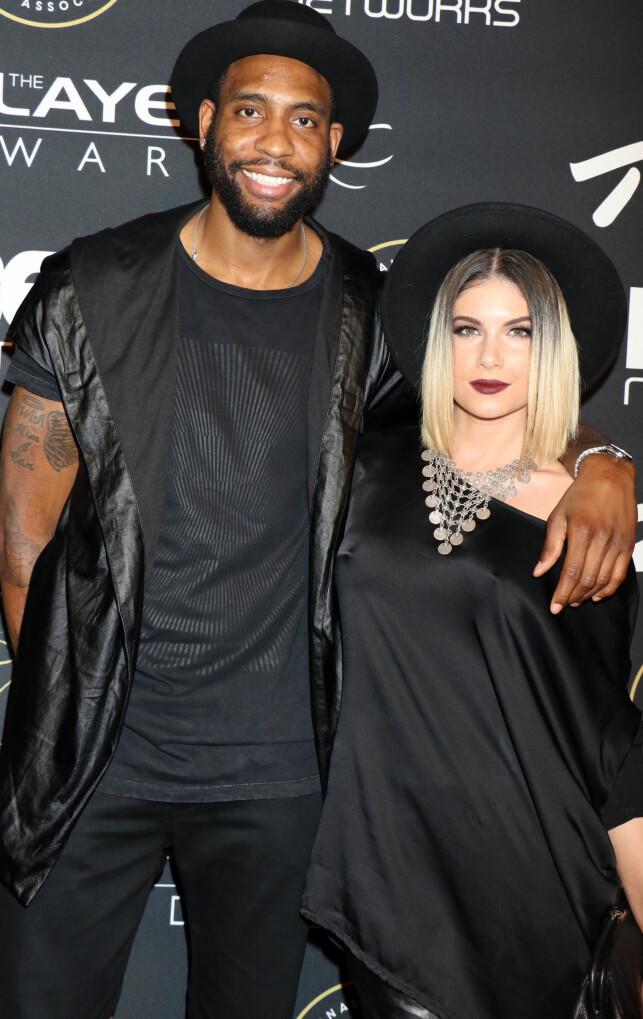 HVER SIN KANT: Begge to hadde egne karrierer i den amerikanske offentligheten. Han som proff basketspiller og hun som sanger. Foto: NTB scanpix