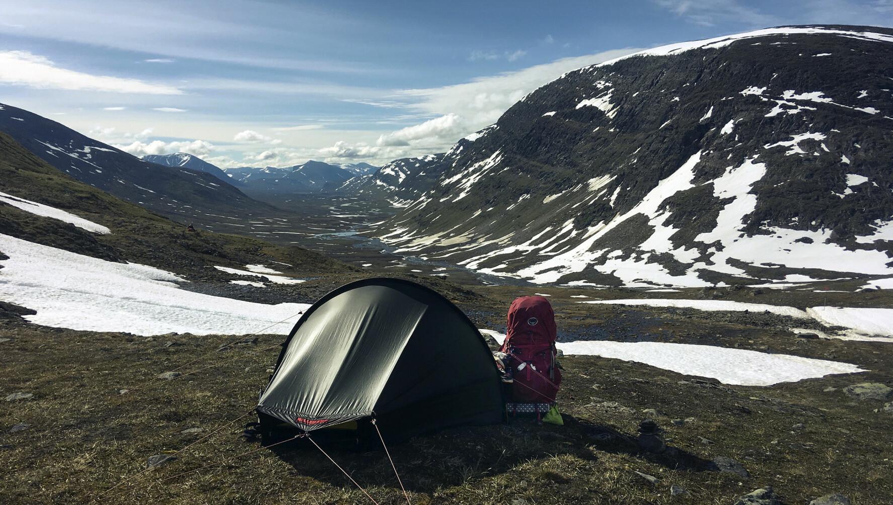 PÅ TUR: Ingrid Randisdatter Fjellberg.