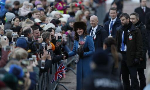 image: Her møter Kate og William folket