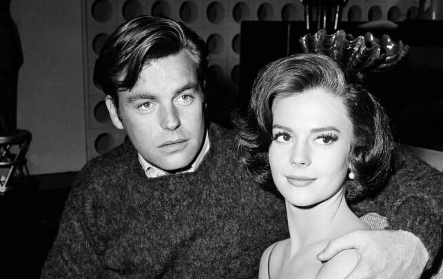 DRUKNET: Dette bildet fra 1969 viser Natalie Wood og hennes ektemann Robert Wagner. Foto: AP Photo/DFS, File/NTBScanpix
