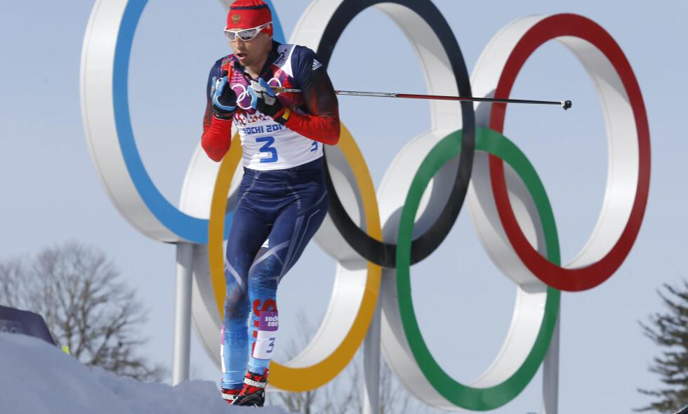 Aleksander Legkov er blant dem som nå får delta i FIS-renn igjen. AP Photo/Dmitry Lovetsky
