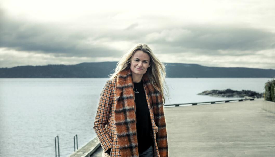FRA FASHION WEEK TIL GALLAMIDDAG: Susanne Holzweiler stakk rett til Norge etter moteuken i København for å hilse på prins Wiliam og hertuginne Kate. Foto: Scanpix
