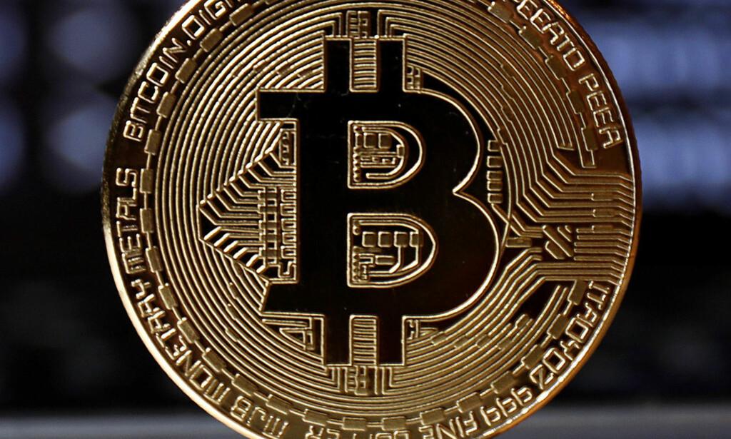 STORT FALL: Bitcoin ligger nå på rundt 6 200 dollar. For seks uker siden lå kursen på over 19 000 dollar. Foto: REX/ Shutterstock/ NTB Scanpix