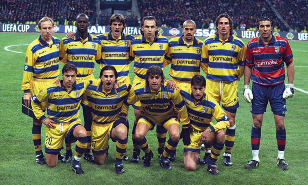 STORE NAVN: Parma besto av flere stjernespillere på 90-tallet. Foto: FourFourTwo