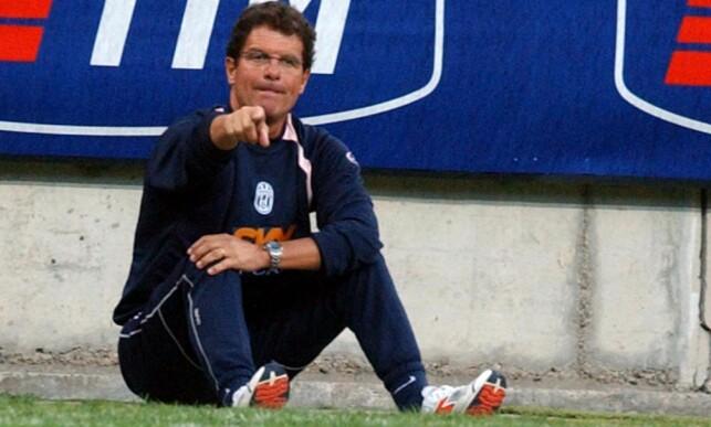 HADDE SUKSESS I MILAN: Fabio Capello. Foto: AP Photo/Antonio Calanni/NTB Scanpix