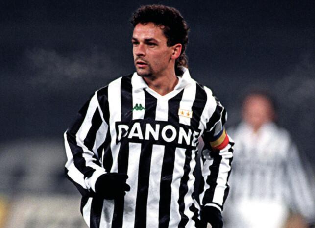 KULTHELT: Roberto Baggio har en stor stjerne i Italia. Foto: FourFourTwo