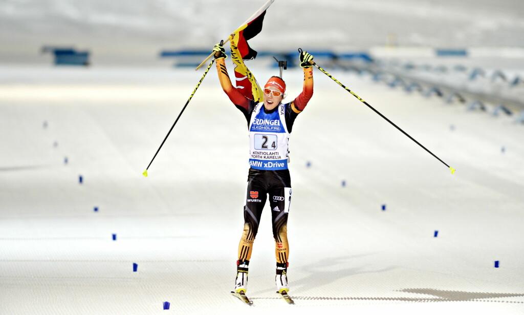TYSKLANDS STORE HÅP: Laura Dahlmeier. Foto: John T. Pedersen / Dagbladet
