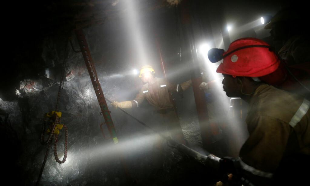 STORSTILT GRUVEDRIFT: Sør-Afrika har store mengder mineraler. Foto: REUTERS/Mike Hutchings/File Photo/NTB Scanpix