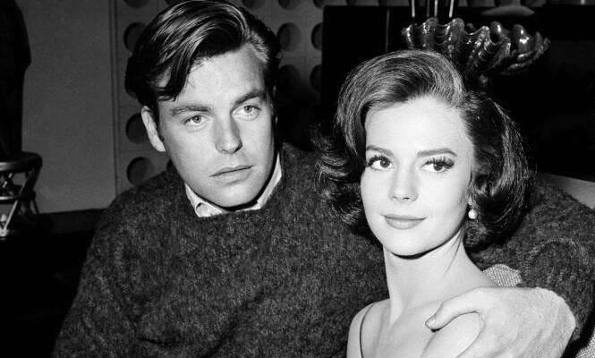 <strong>DRUKNET:</strong> Dette bildet fra 1969 viser Natalie Wood og hennes ektemann Robert Wagner. Foto: AP Photo/DFS, File/NTBScanpix