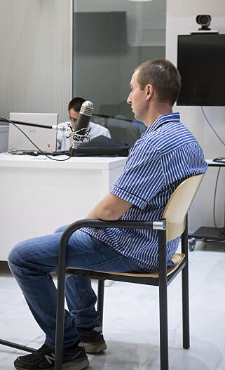 I RETTEN: Her sitter Levasjov i retten i Barcelona. Foto: AP / NTB scanpix