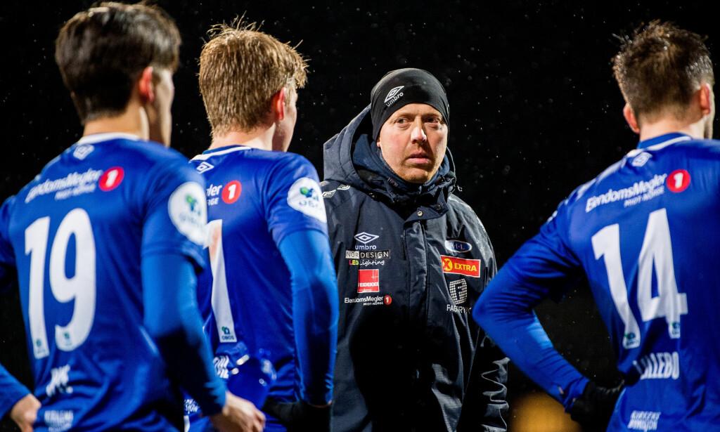 FORSTERKER: Svein Maalen henter lokalgutt hjem til Trondheim og eliteseriespill med Ranheim. Foto: Vegard Wivestad Grøtt/Bildbyrån