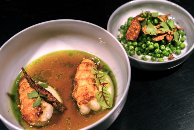 SMÅTT OG STORT: På Nemesis serveres både små og store retter fra en rikholdig meny. Foto: Tomm W. Christiansen / Dagbladet
