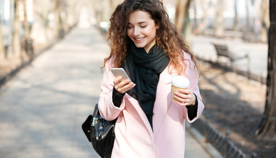 APPER: Mobilen er med oss overalt, så sørg for at du har alt du trenger på den! FOTO: NTB Scanpix