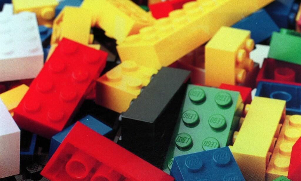 KAN VÆRE SKADELIG: Lego fra 70- og 80-tallet kan inneholde for store mengder skadelige stoffer.Fotograf: Heiko Junge/ NPK/ NTB Scanpix