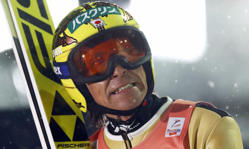 image: OL-veteran Kasai frykter ekstrem kulde i Pyeonchang