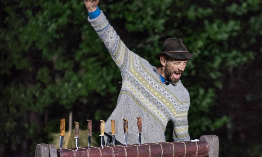FJORÅRETS VINNER: Leif-Einar Lothe stakk av med seieren under fjorårets finale av «Farmen Kjendis». Han har sitt å si om årets deltakere. Foto: TV 2