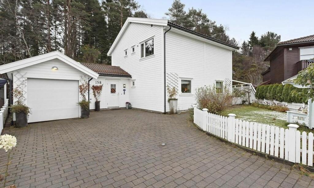 Harald Sæveruds vei 158, enebolig i Fana, 146 kvm. Solgt for 6 200 000. Foto: Eiendomsmegler Vest