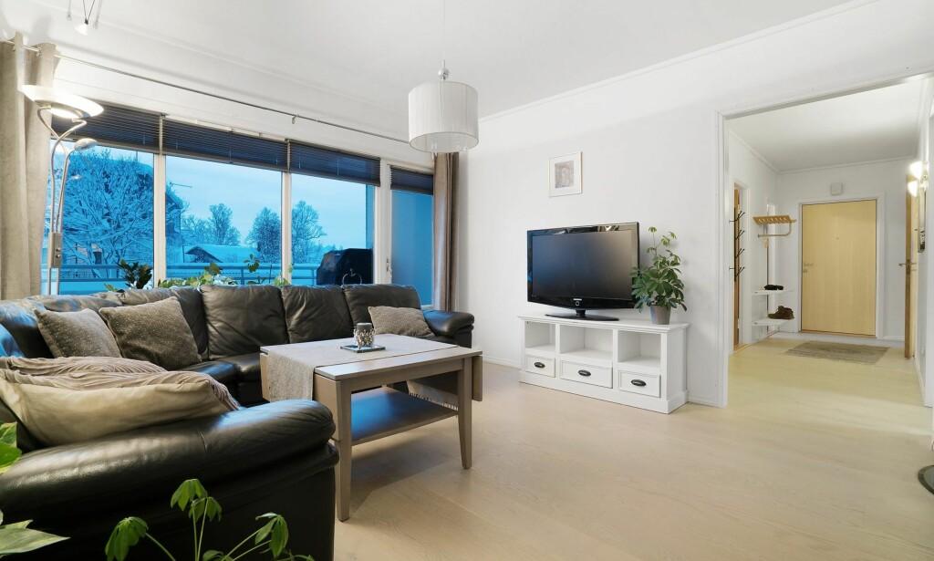 Anna Eides veg 8 – 4-roms leilighet med sentral beliggenhet. Prisantydning inkludert fellesgjeld: 4.067.666,-. Foto: Eiendomsmegler 1