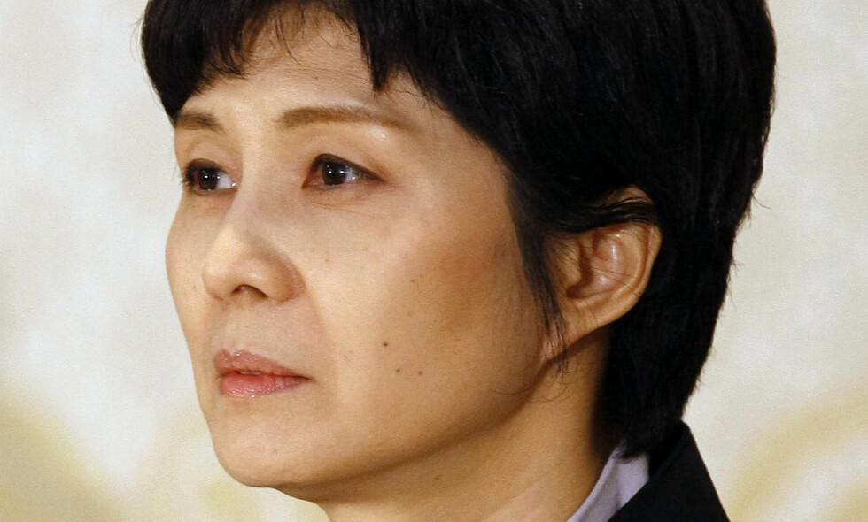 SKAMMER SEG: Kim Hyon-hui stod bak bomba som tok livet av 115 personer før forrige OL i Sør-Korea. Foto: Kim Kyung-hoon / Pool Photo via AP / NTB scanpix