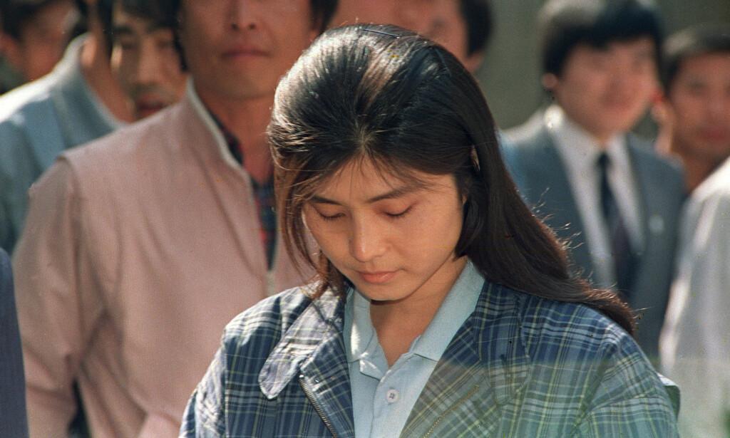 BLE DØMT: Kim Hyon-hui ble dømt til døden for å ha sprengt passasjerflyet, men ble senere benådet. Foto: AP Photo / Liu Heung Shing / NTB scanpix