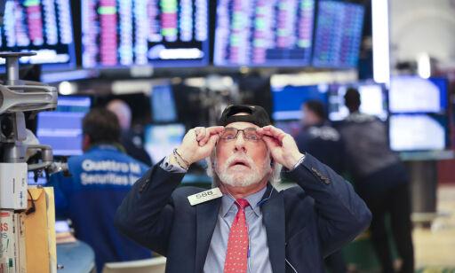 image: Globalt børsras og kronefall: - Frykten har tatt overhånd