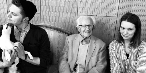 image: NRK svarer om Salongen og besøket av professor Johan Galtung