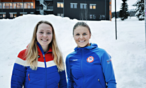 OL-HÅP: Johanne Killi og Tiril Sjåstad Christiansen. Foto: Marthe Ihle / Dagbladet