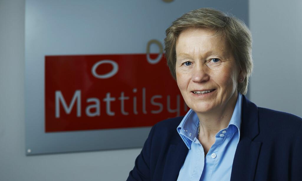 FORNØYD: - Smilefjesordningen fungerer bra, sier Karina Kaupang i Mattilsynet. Foto: Mattilsynet