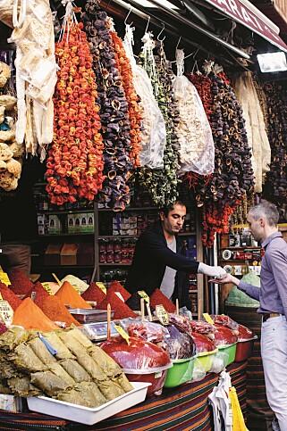 MARKED: - Istanbul var overveldende og fantastisk. Jeg brukte litt tid på å venne meg til byen, sier Vidar Bergum. Foto: Bahar Kitapci