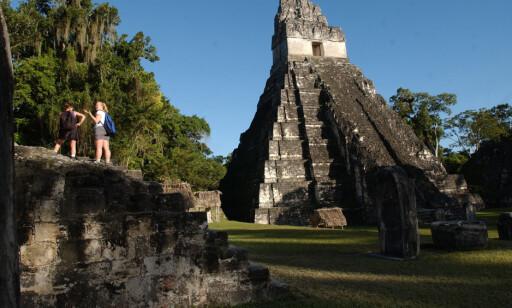 MER: Flere av bygningene Mayasivilisasjonen satte opp er tidligere oppdaget. Nå viser det seg imidlertid at omfanget er langt større enn hva man har trodd. Foto: AP