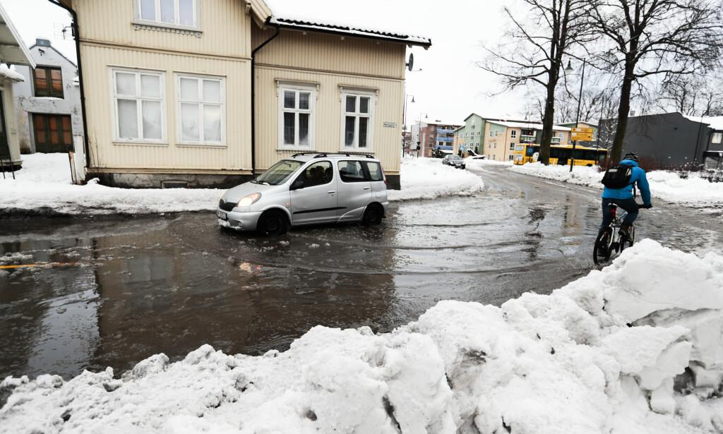 MILDT: Nå blir det mildere og våtere i store deler av landet. Foto: Lise Åserud / NTB scanpix