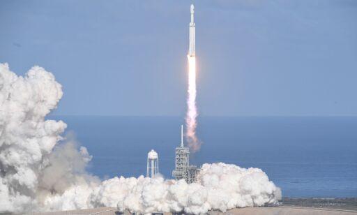 image: Suksess for Musks romrakett