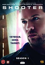 SESONG 1 av suksesserien «Shooter» er ute på DVD med norske tekster.
