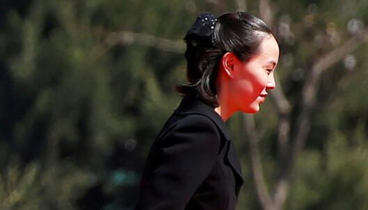 Diktatoren overrasker: Kim Jong-un sender mektig lillesøster til OL