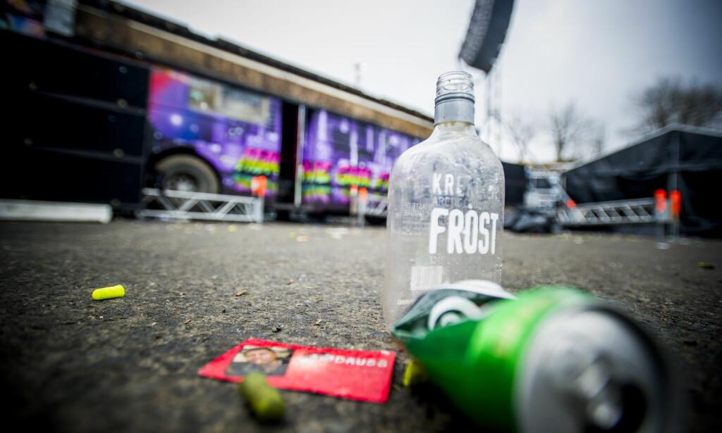 FYLLA HAR SKYLDA: Å drikke alkohol i tenårene kan få sine konsekvenser, viser ny svensk studie. (Foto: Thomas Rasmus Skaug / Dagbladet)