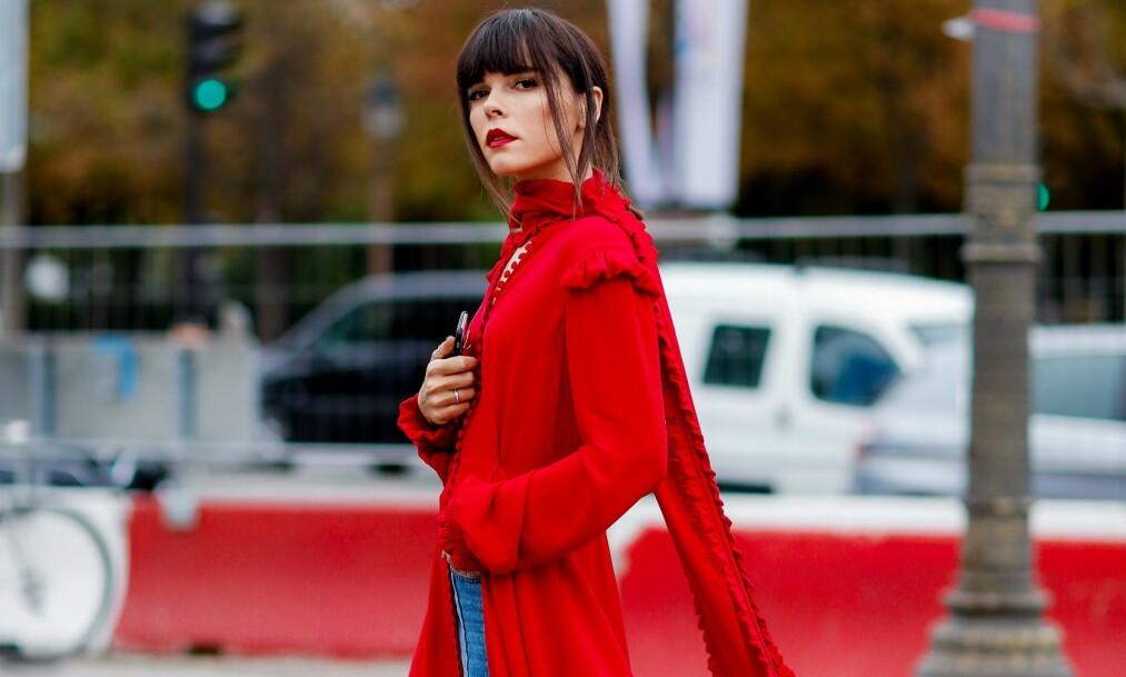 KJOLER TIL VALENTINE'S DAY: Hva passer vel bedre enn en rød variant? FOTO: NTB Scanpix