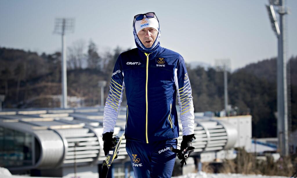 VIKTIG FOR NILSSON: Den norske treneren Ole Morten Iversen. Foto: Bjørn Langsem / Dagbladet