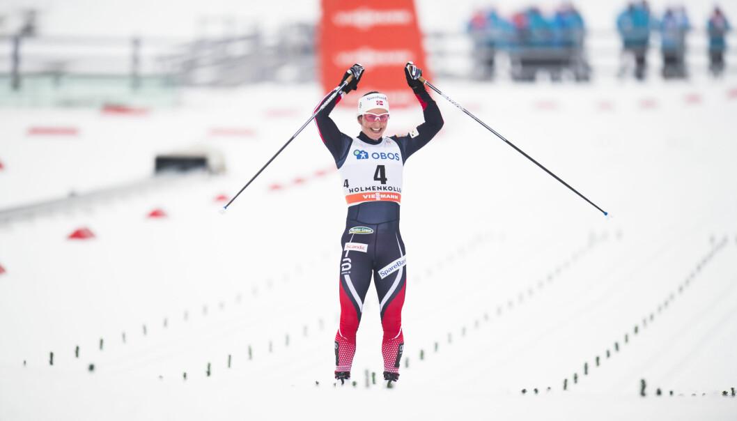 OL-KLAR: Marit Bjørgen er nå klar for å representere Norge under OL i Pyeongchang i Sør-Korea. Foto: Jon Olav Nesvold / NTB Scanpix