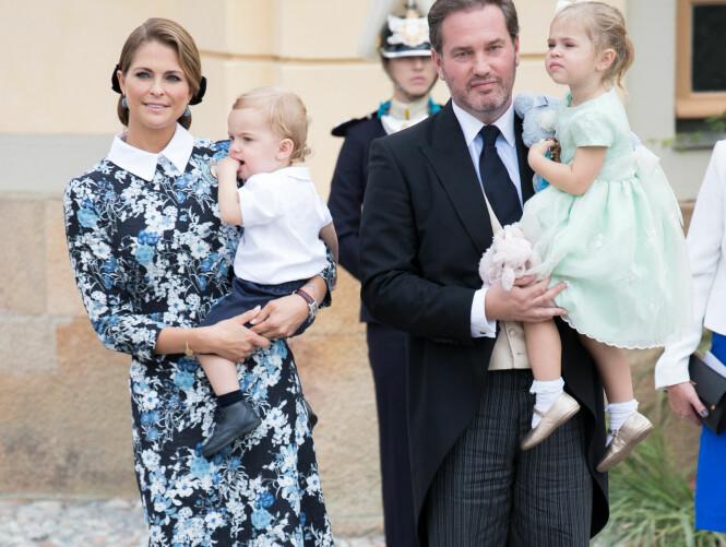 SAMLET: Det er ikke lenge til den kongelige familien på fire får et femte tilskudd til verden. Foto: NTB Scanpix