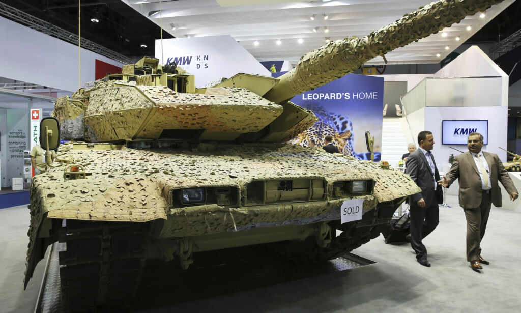 image: Slik selger Norge sine våpen