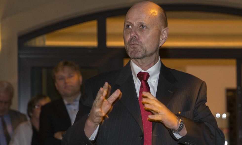 HUSKER IKKE: Daværende ambassadør i De forente arabiske emirater, Sten Anders Berge, sier han ikke husker planleggingen spesifikt. <br>Foto: Berit Roald / NTB Scanpix