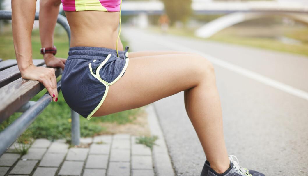 <strong>EN INDIREKTE HJELPER:</strong> Trening kan ifølge vår ekspert ha positive sideeffekter. FOTO: NTB Scanpix