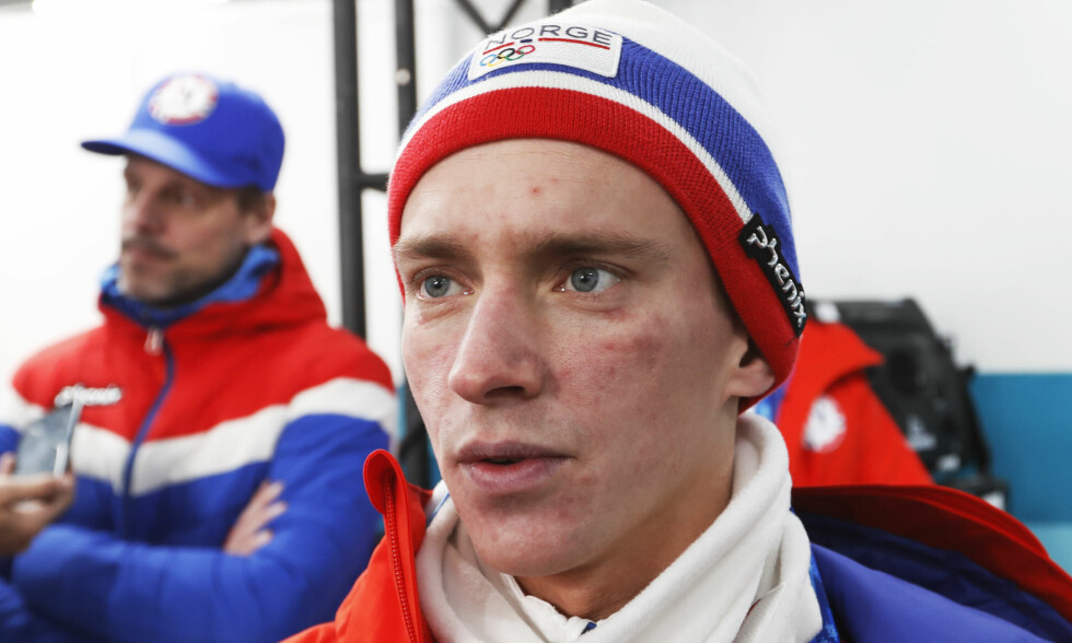 SKUFFET: OL ble ikke slik Anders Fannemel håpet det skulle bli. I går hoppet han NM i Holmenkollen. Foto: Erik Johansen / NTB scanpix