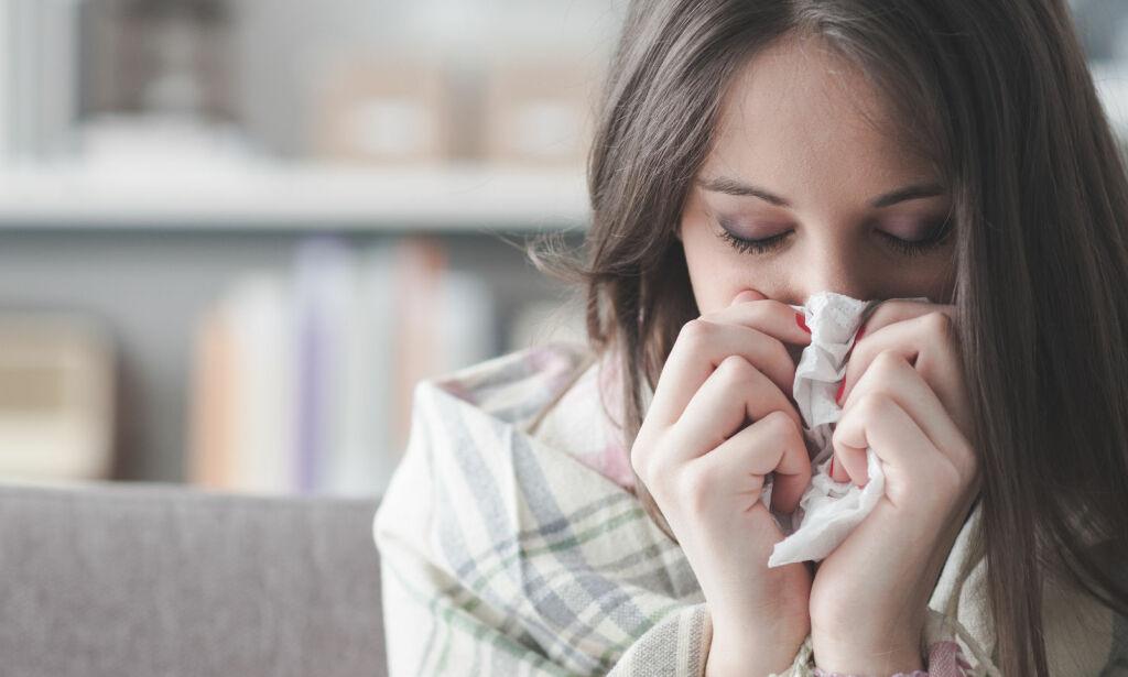 image: Symptomene du bør være ekstra obs på ved lungebetennelse