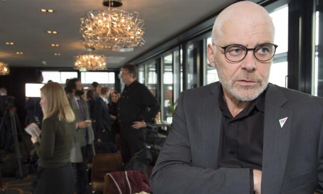 SV: Petter Eide er opptatt av den helhetlige bruken av politiressursene. Her avbildet under PSTs oppsummering av trusselbildet i Norge. Foto: Hans Arne Vedlog / Dagbladet