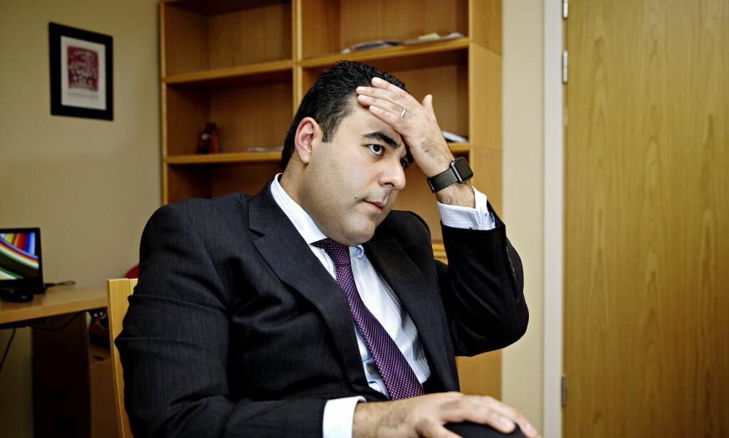FÅR KRITIKK: Arbeiderpartiets nye innvandringspolitiske talsmann Masud Gharakhani har fått blandet mottakelse siden han startet i sin nye rolle. Foto: Nina Hansen / DAGBLADET