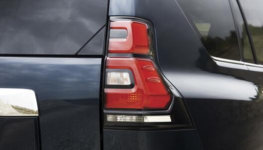 <strong>NYE:</strong> Bak er lyktene stort sett det som er nytt. Foto: Toyota