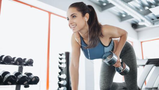 TO TIL TRE GANGER I UKEN: Fysioterapeut og personlig trener, Øystein Jensen, mener man bør trene styrke to til tre ganger i uken. FOTO: NTB Scanpix